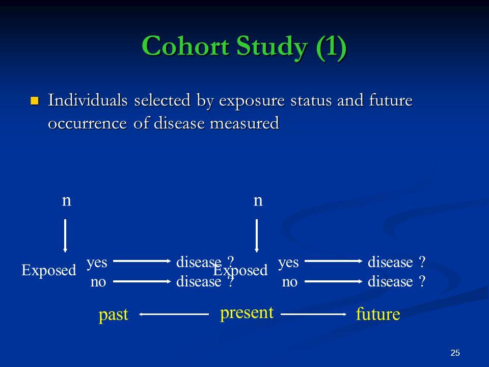 Cohort Study - an overview | ScienceDirect Topics