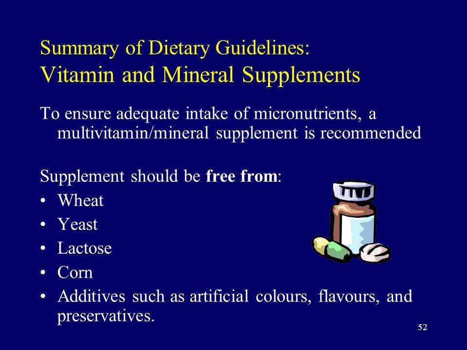 dietary supplements summary essay