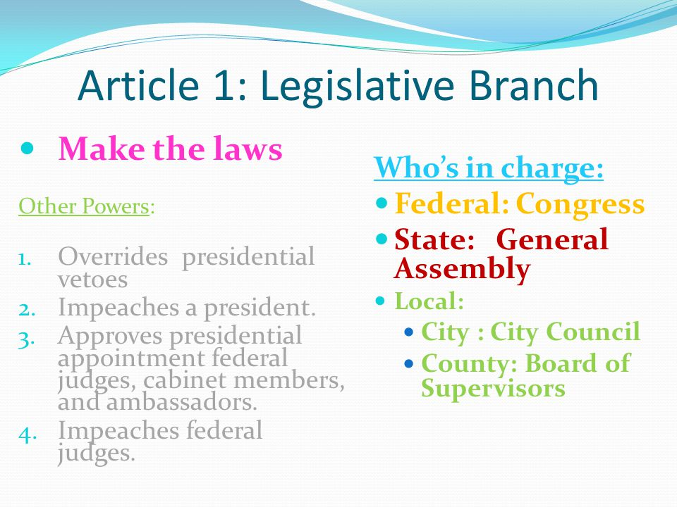 the regulation of aviation on a federal state and local level And management and administration at the local, state, and federal levels  cabinet level secretary (fed/ state) representative  business regulation.
