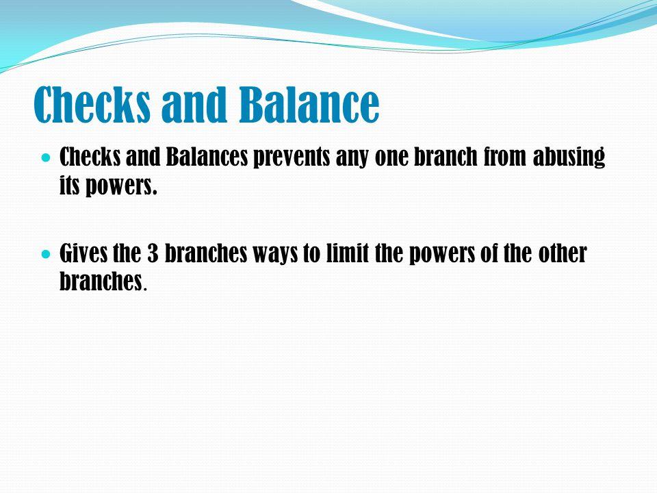 separation of powers and checks and balances pdf