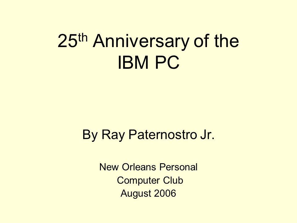 ibm i 25th anniversary