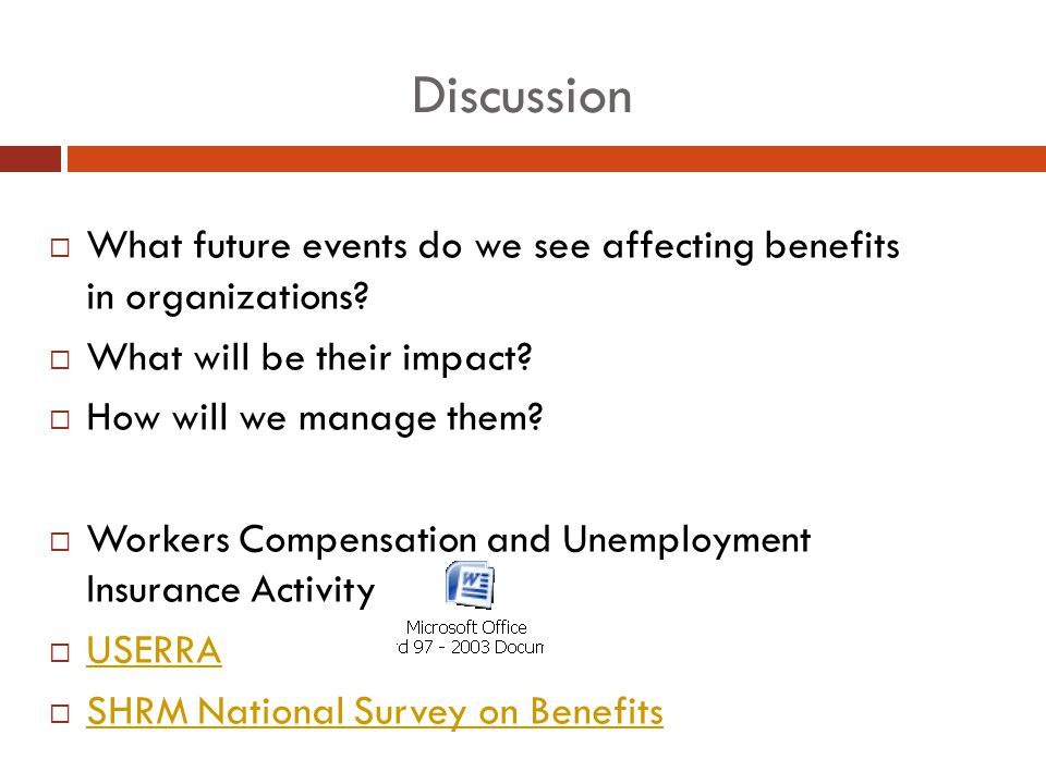 a discussion on the topic of employee benefits Techniques for leading group discussions chapter 16 sections section 1  even if you know more about the discussion topic than most others in the group.