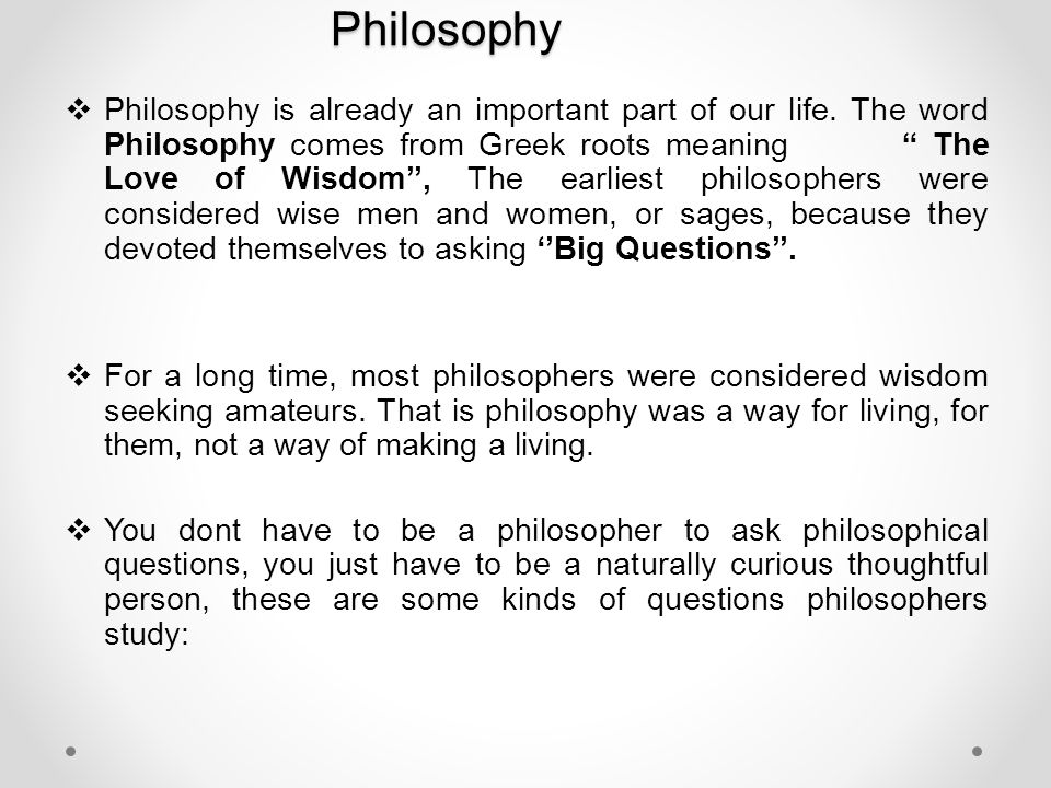 An analysis of the period of development of greek philosphy