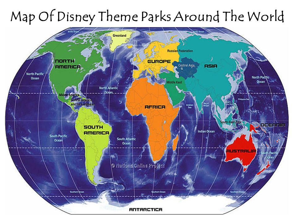 Disney World Parks Map on