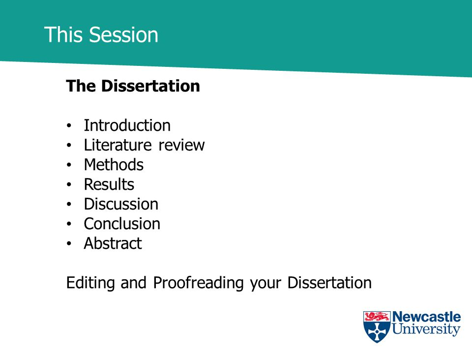 include conclusion chapter dissertation