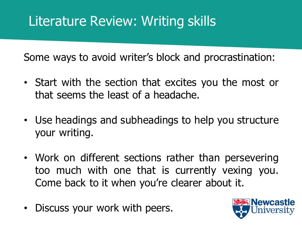 Literature review writer price
