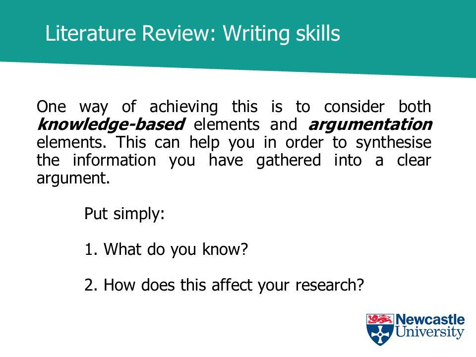 research on writing skills pdf