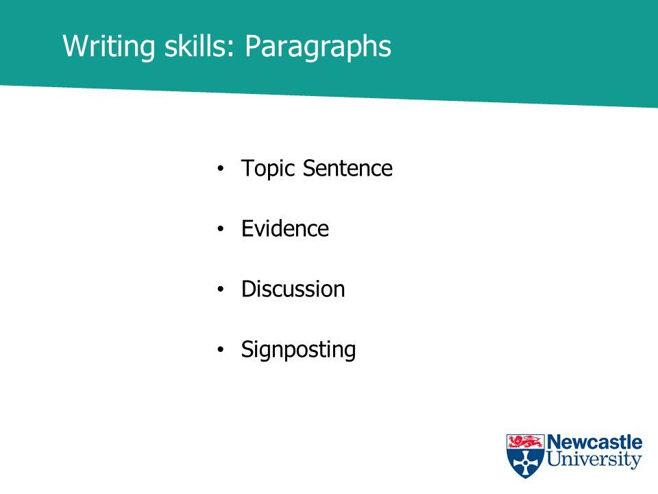 signposting words essay