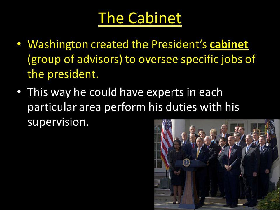 President Washington a - Describe major domestic problems faced by ...
