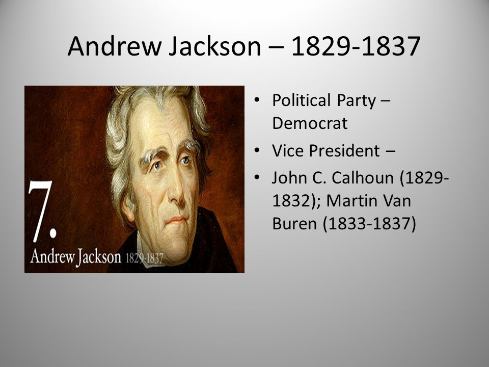 andrew jackson was democratic Andrew jackson is the founder of the modern democratic party the annual jefferson-jackson dinner is a major event and fund raising.