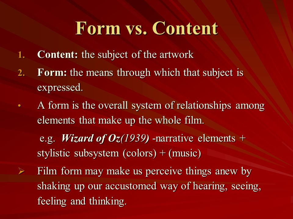 Looking At Movies (An Introduction to Film) - ppt download
