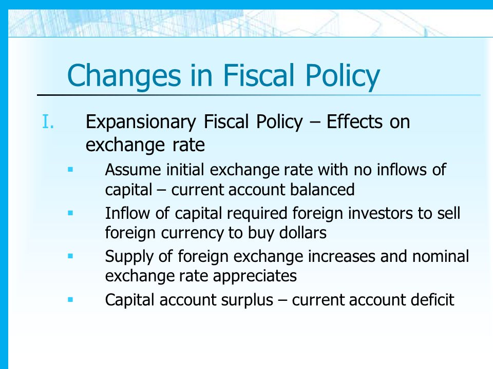 effect of changes of foreign exchange