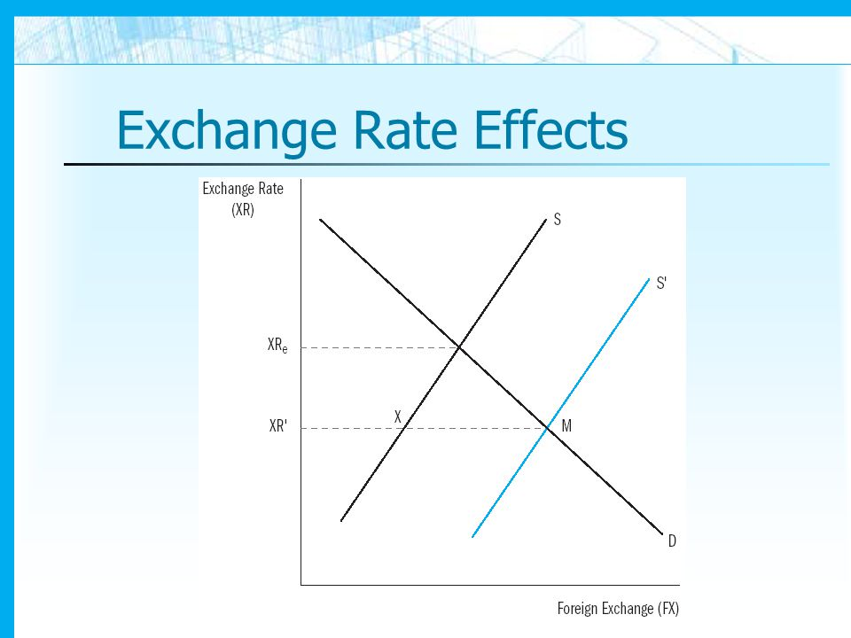 Exchange Rate Effects