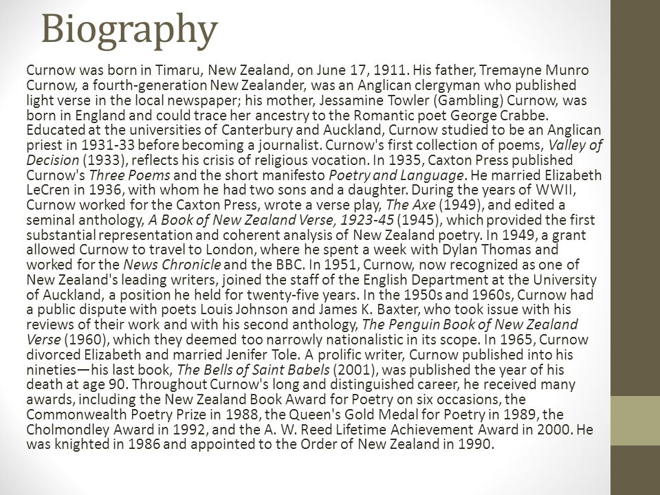 the poetry of james k baxter and his views on spirituality James k baxter is one of new zealand's most celebrated poets born in dunedin, baxter started writing poetry at an early age his first collection of poetry, beyond the palisade (1944), was critically acclaimed although he was just 17 years old and a student at the university of otago when it was published.