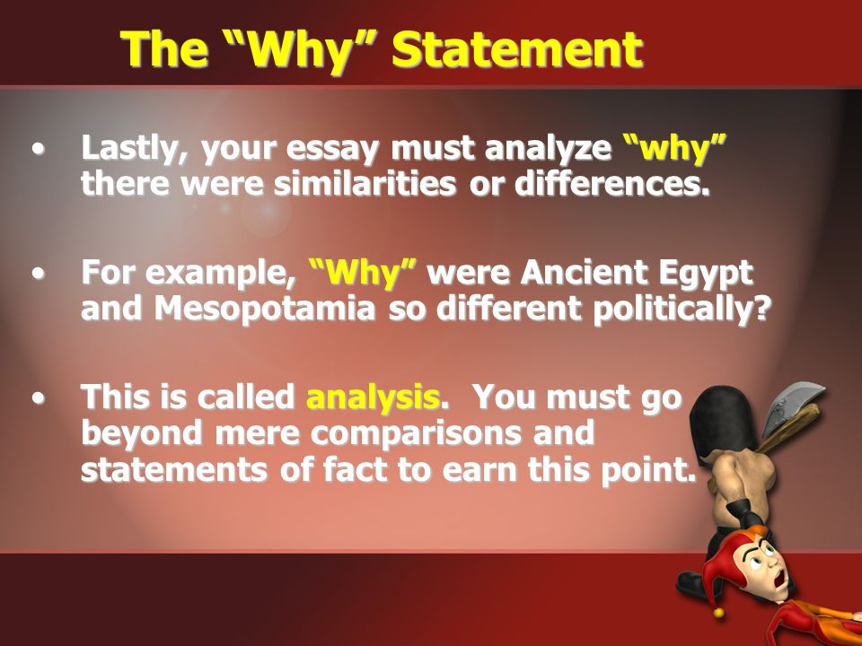 egypt and mesopotamia comparison essay example Mesopotamia and egypt compare and contrast essay you will need your recipes charts from both mesopotamia and egypt to complete this for example, if you said.