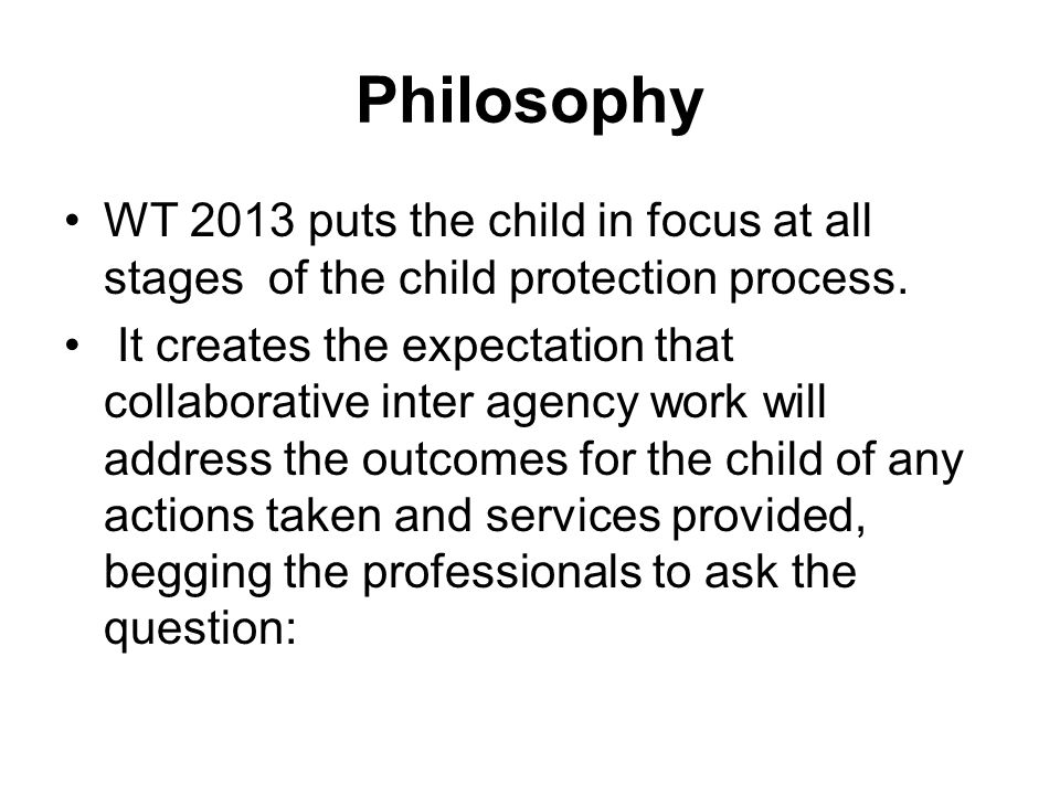 the child protection process Chapter 2: determinations, timeline, and flowchart removal) and if agenc child protection agency notified of suspected abuse by mandatory or non.