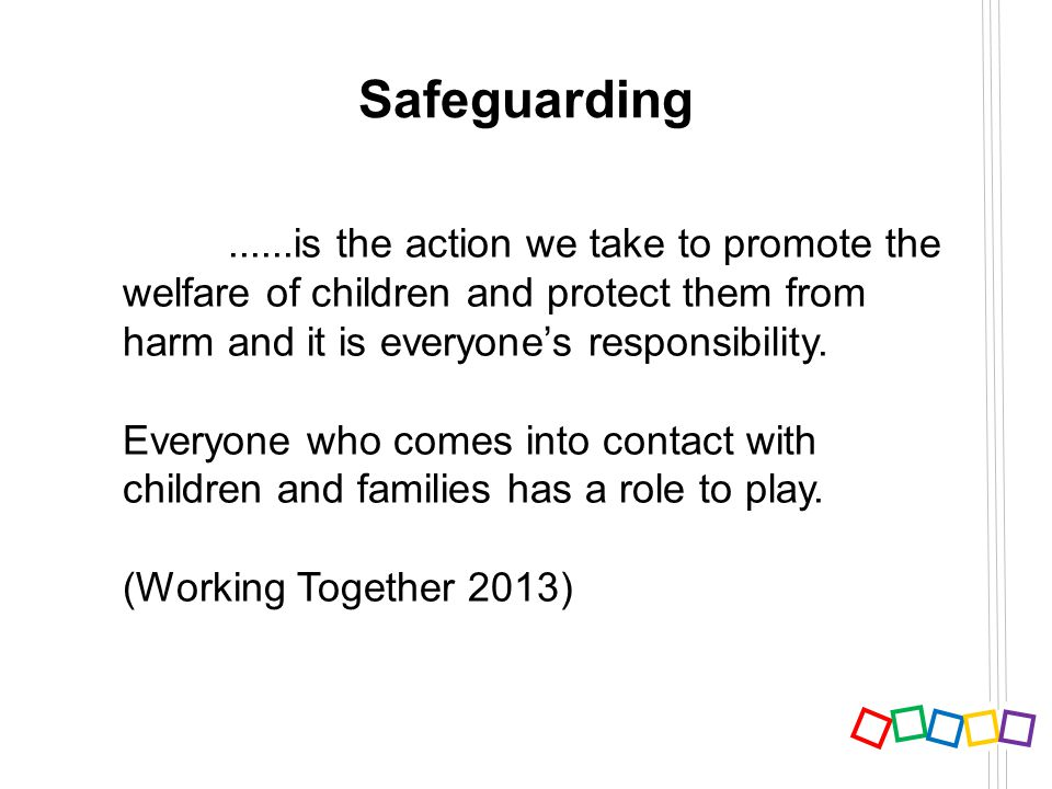 Safeguarding and promoting childrens welfare essay