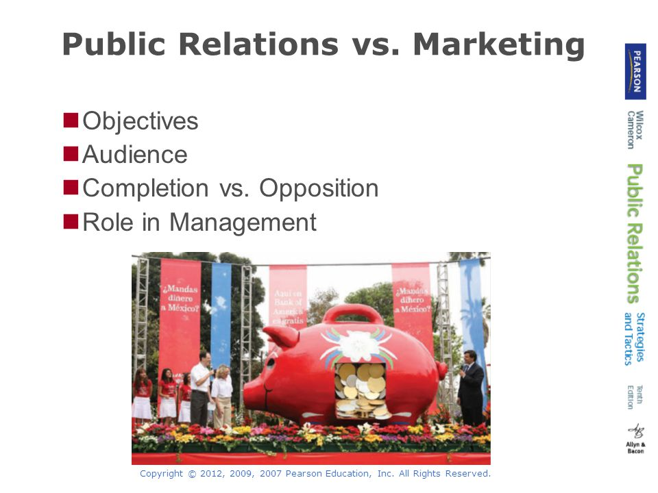 public relations vs marketing The public relations industry does a terrible job of public relations very few  people can explain what people in public relations really do.