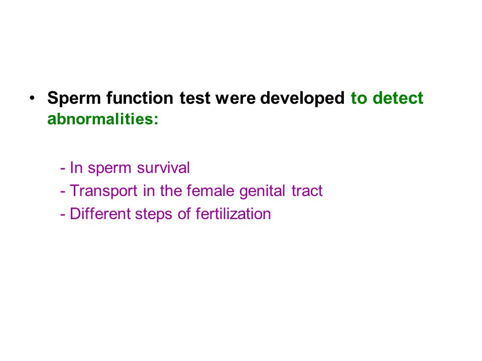 Sperm test vitality apologise, but