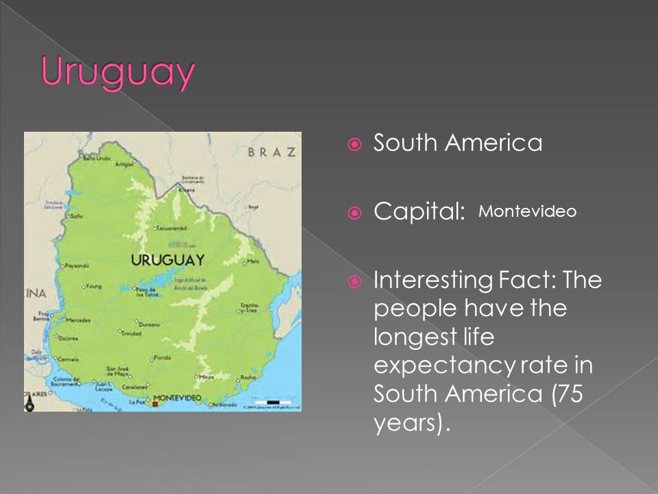 Uruguay South America Capital: