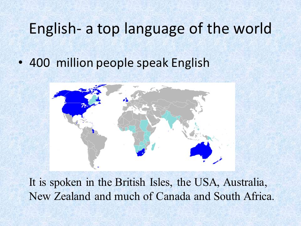 A New Language Is A New World Ppt Video Online Download - Top 3 world languages