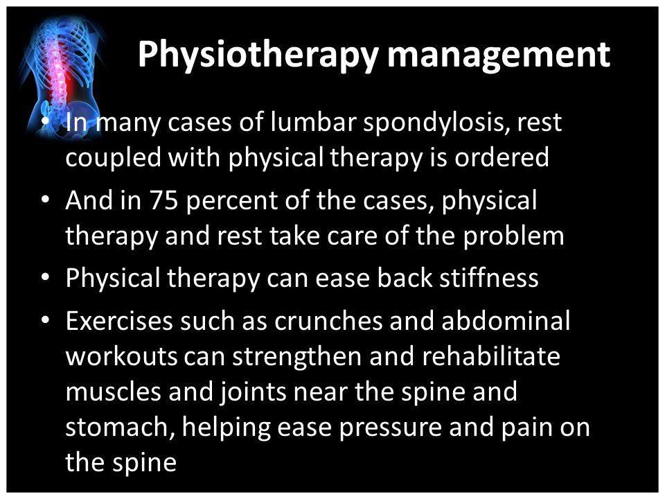 Physiotherapy management