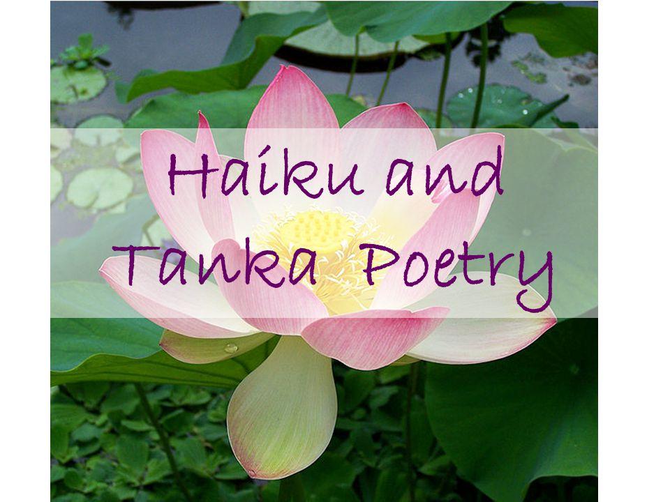 Haiku and Tanka Poetry. - ppt download