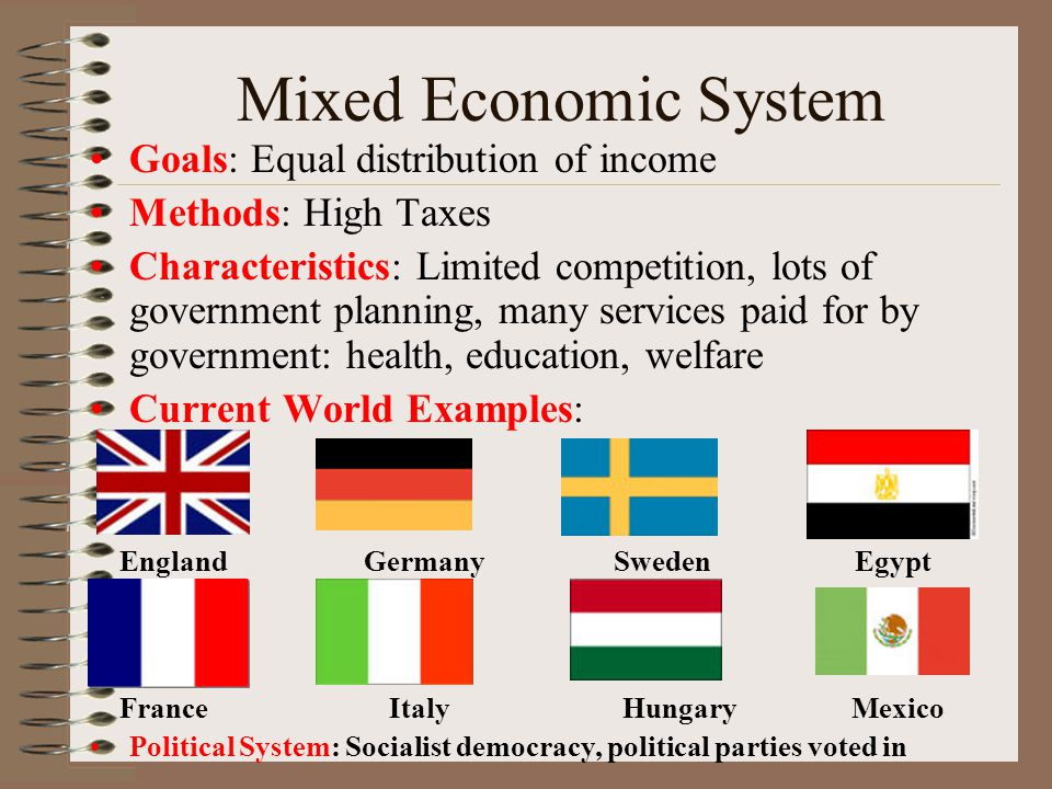 characteristics of mixed economy Is south africa a mixed economy yes it is south africa is a country located at the southern tip of the african continent it also includes a small, sub-atlantic archipelago of the prince edward islands.