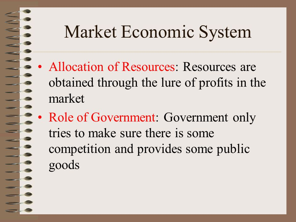 how economic systems allocate resources effectively It depends on the economic system how it would allocate resources in market economies such as us, the decision is on the people, the producers and the.