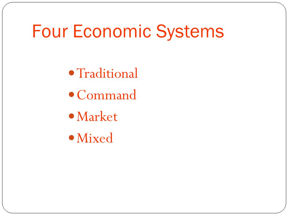similarities among market command mixed economies Types of economic systems: traditional, command command, market, and mixed economies types of economic systems: traditional, command, market & mixed.