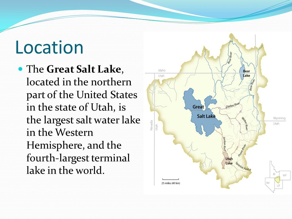 The Great Salt Lake An Enormous Lake Ppt Video Online Download - Great salt lake on a us map