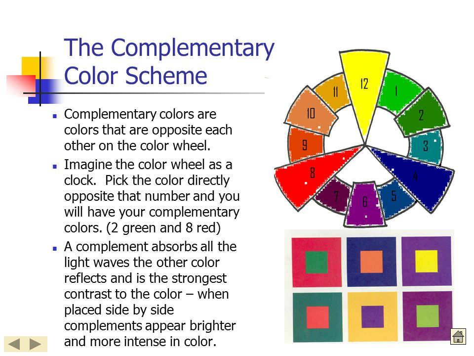 The Complementary Color Scheme
