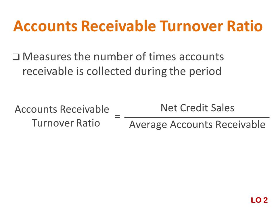 receivables turnover ratio Accounts receivable turnover is the number of times per year that a business  collects its average accounts receivable the ratio is intended to.