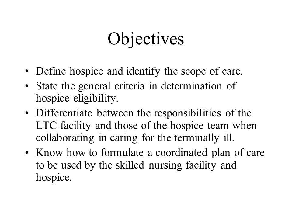 Define the term duty of care
