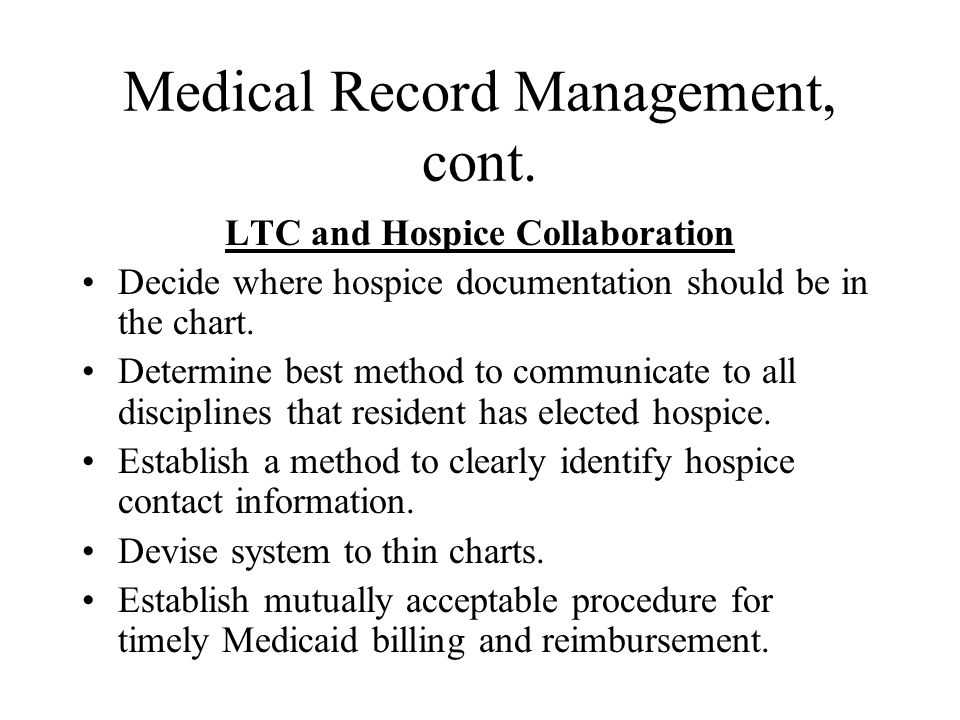 Medicaid Room And Board Hospice Billing