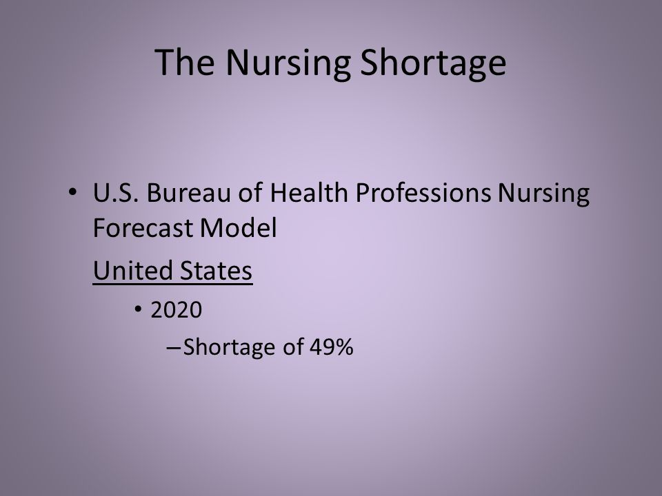 The Shocking Truth about the Nursing Shortage in the United States