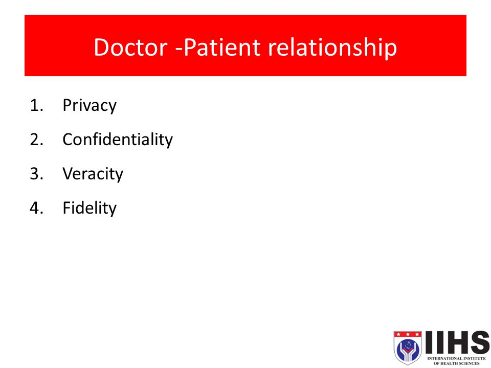 doctor patient relationship and malpractice law