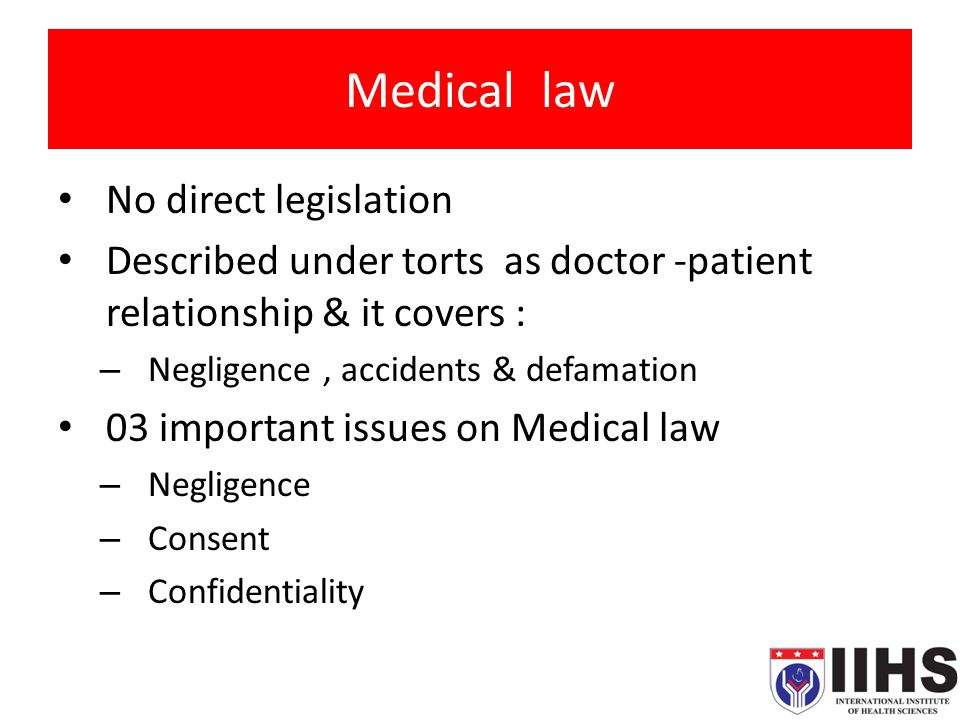 medical record and issues in negligence Medical-legal & ethical issues in nursing  personnel that the availability of accurate medical records is not a technicality  with gross negligence on a .
