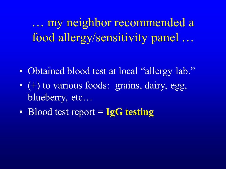 Where To Get E  Common Food Allergy Panel