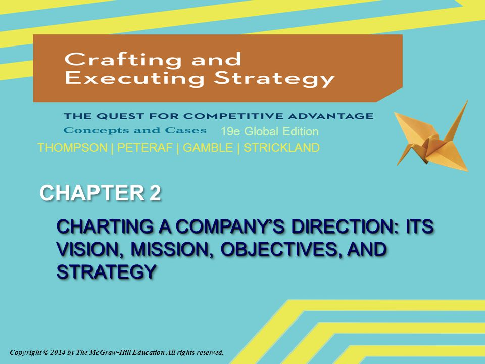 Ch. 2: Charting A Company's Direction