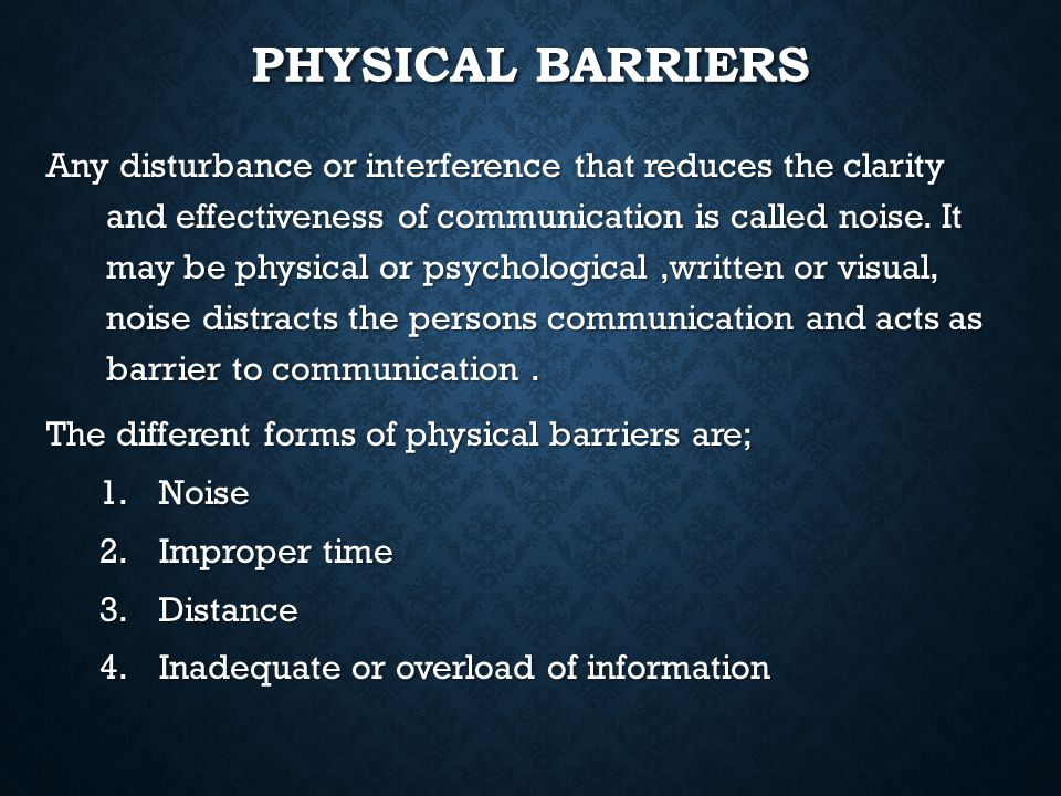 psychological barriers to business communication Home » what are the barriers to communication  to make you aware about its reduction in the business barriers to communication  psychological barriers.