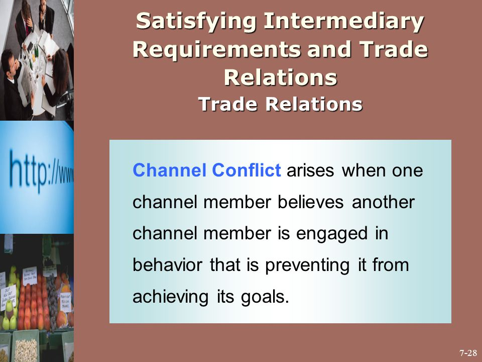 channel conflict and ethical considerations in channel relations Channel conflicts  questions for an online sales channel:  the response to an  arising channel conflict for example, can be the delisting of  for the relationship  to the suppliers, this means that the online sales increases.