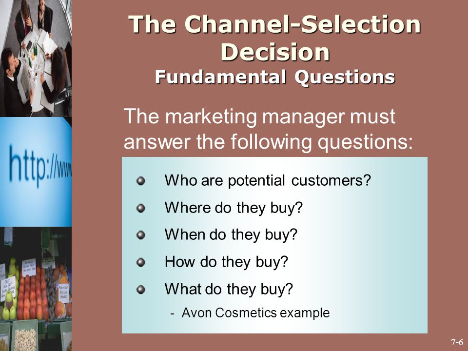 questions fundamental of marketing Marketing strategy is the pursuit of solutions to four fundamental marketing  problems: all customers differ all customers change all competitors react all.