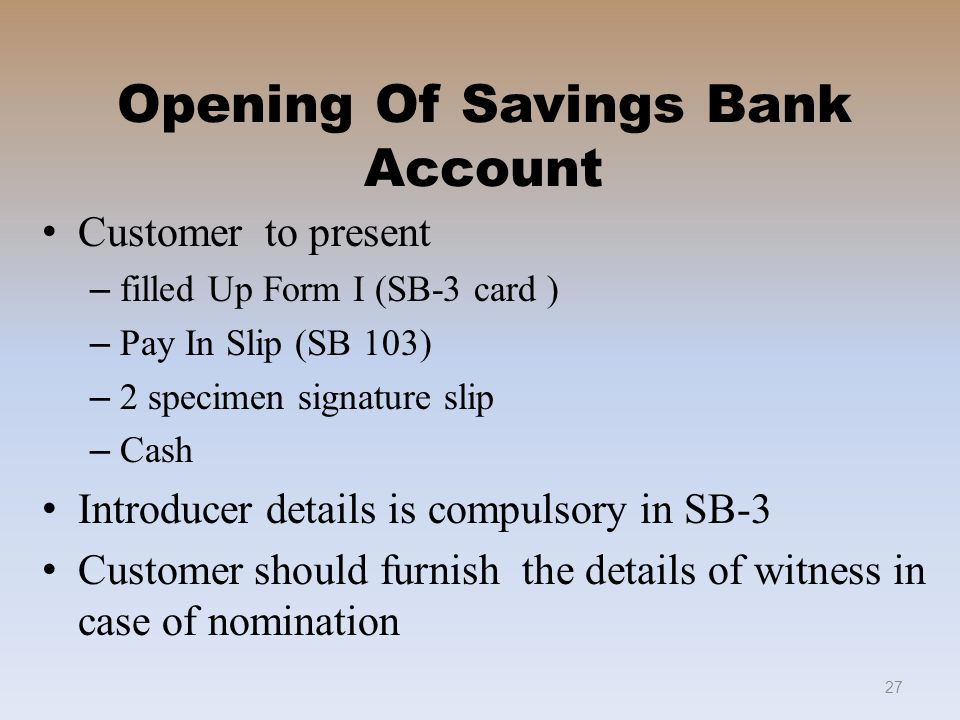 Welcome to savings bank in po ppt video online download - Post office joint account ...