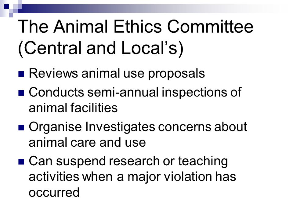 an introduction to the issue of ethics of animal testing Various alternatives to animal testing were proposed to overcome the drawbacks associated with animal experiments and avoid the unethical procedures a.