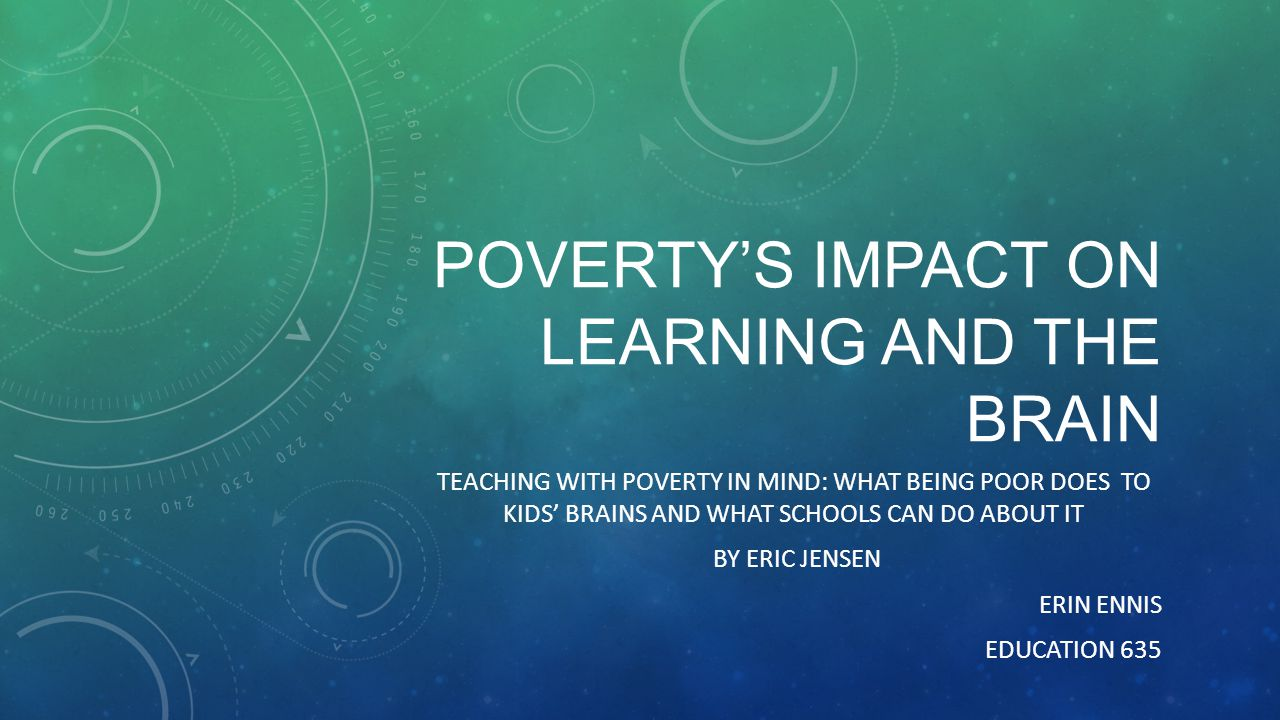 poverty and learning Universal public education has two possible—and contradictory—missions one is the development of a literate, articulate, and well-informed citizenry so that the democratic process can continue to evolve and the promise of radical equality can be brought closer to realization.