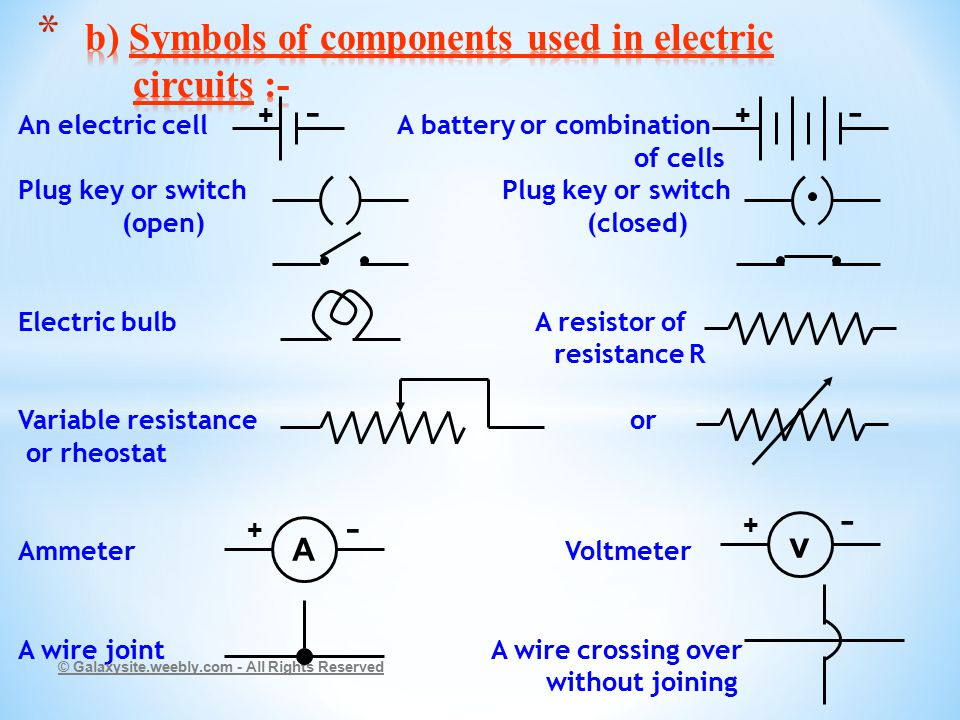 Fancy Symbol Of Electric Cell Model - Electrical and Wiring Diagram ...