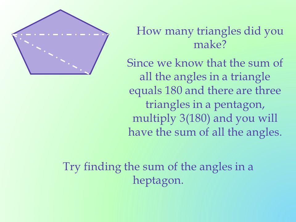 7 3 Formulas Involving Polygons Ppt Download