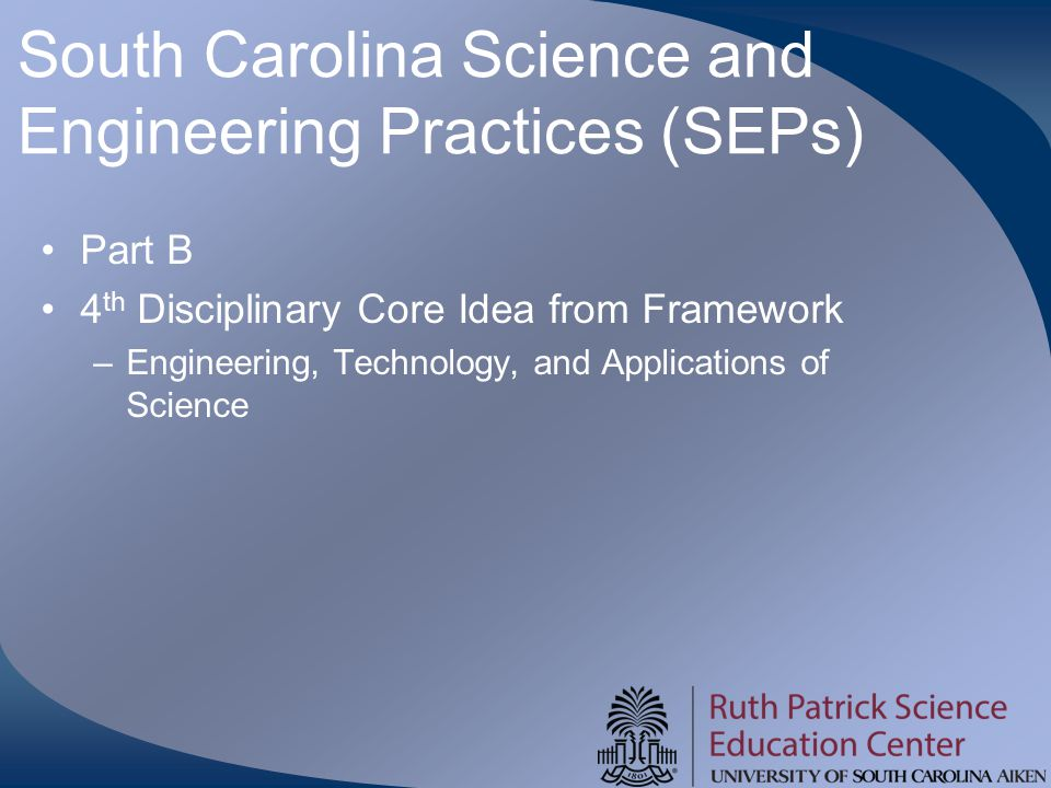 South Carolina Science and Engineering Practices (SEPs)