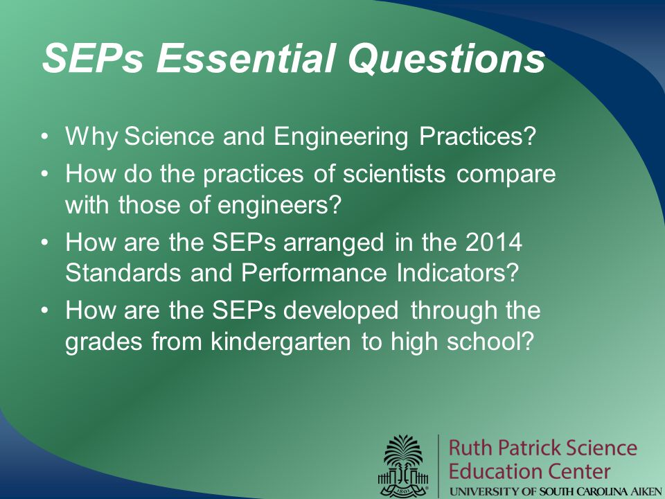 SEPs Essential Questions